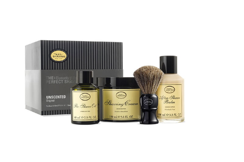 the 4 elements of shave kit the art of shaving