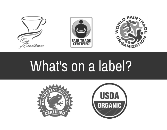 Coffee Label Designations
