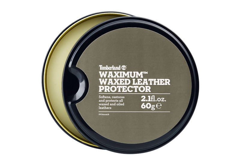 timberland waximum leather protector