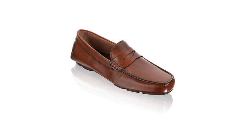 To Boot New York Cognac Leather Driver