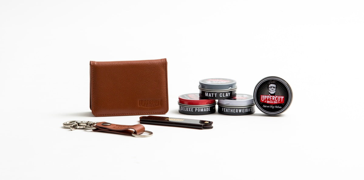 uppercut deluxe travel kit