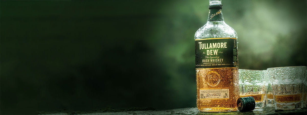 tullamore, Irish whiskey