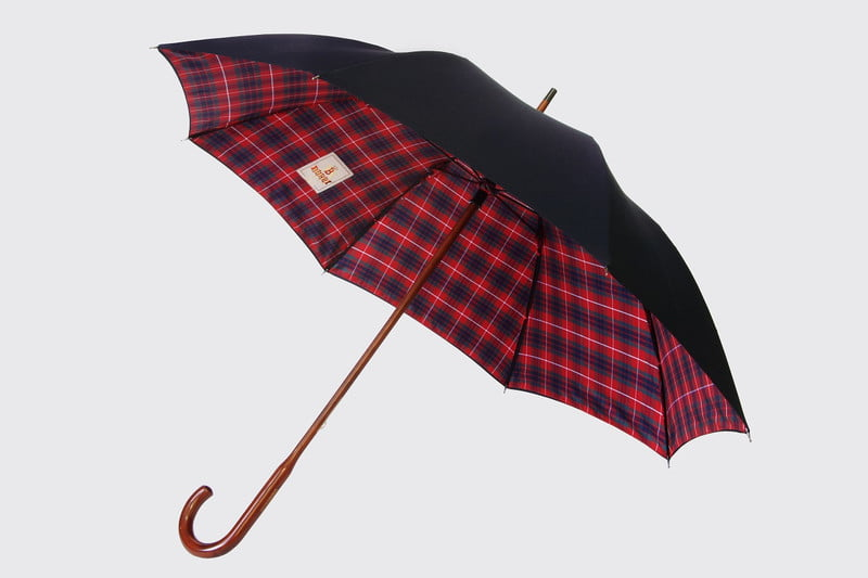 london undercover plaid underside umbrella
