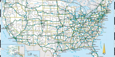 United-States-Road-Map-Highways