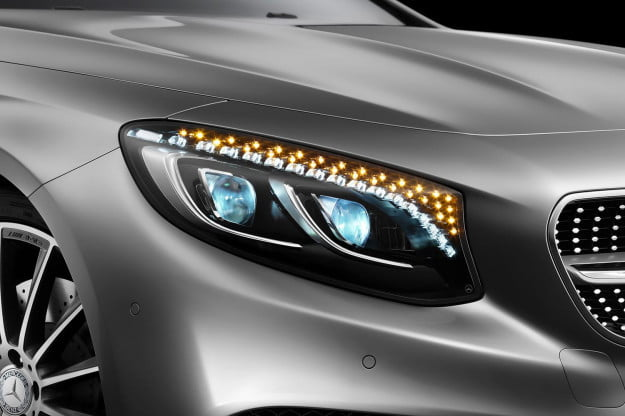 2015 Mercedes S Class Coupe headlight