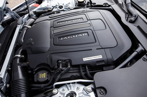 Jaguar F TYPE Coupe engine