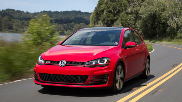 VW Golf GTI, 5 best cars for young professionals
