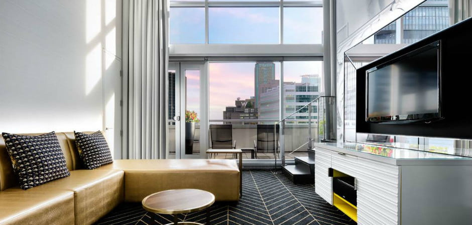 W Montreal  - WOW Suite