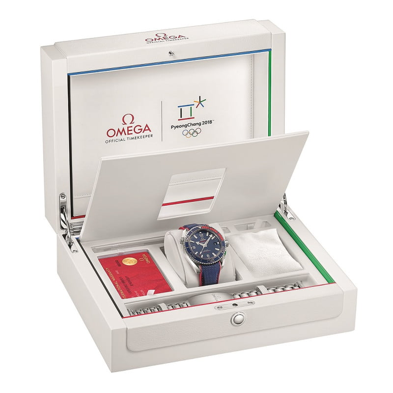 seamaster in luxury packagin