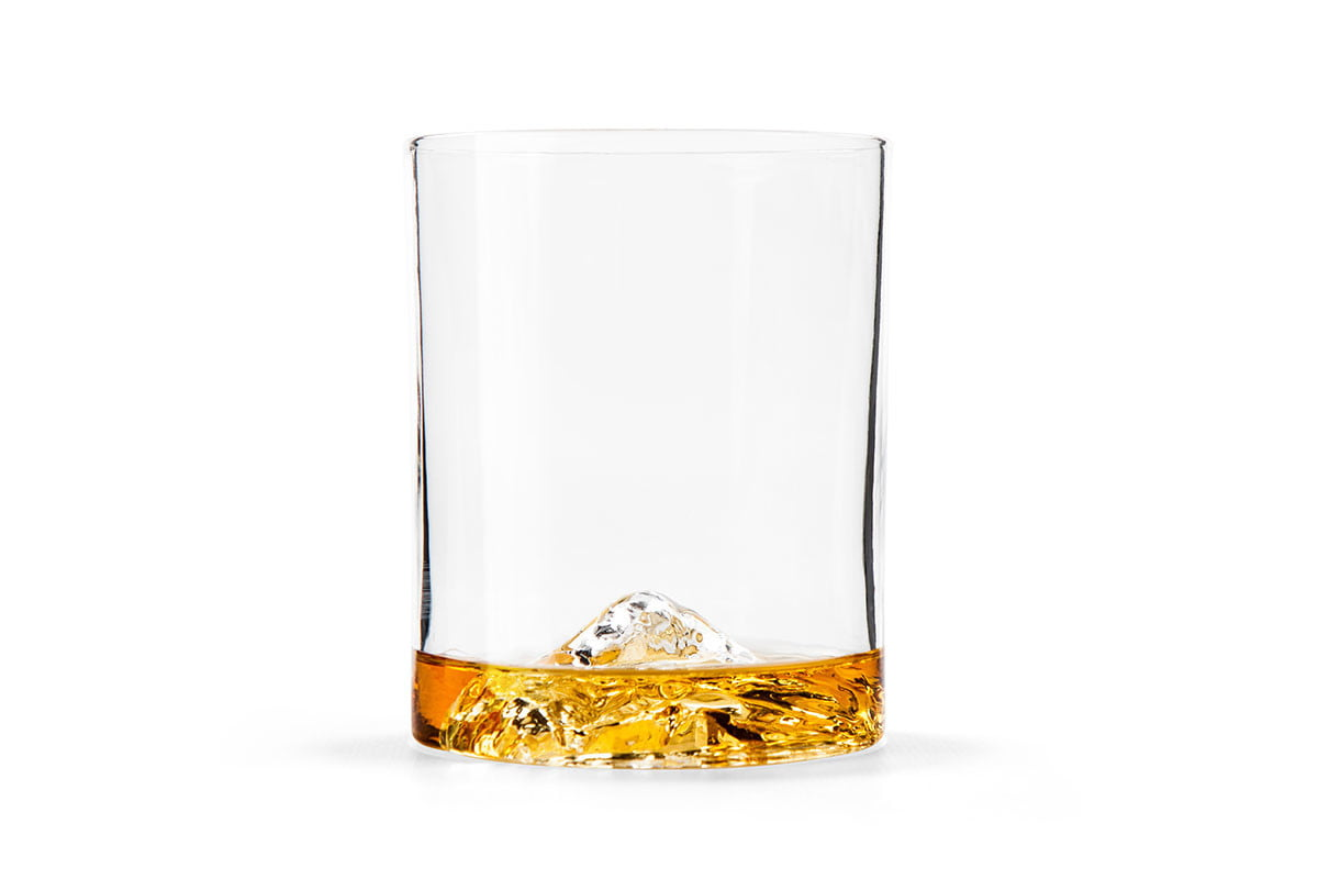 Whiskey Peaks Rocks Glasses