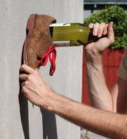 wine shoe method