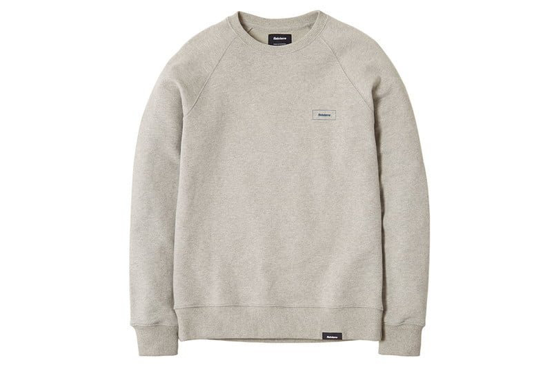 Workshop Coho Sweatshirt in Granite by FINISTERRE