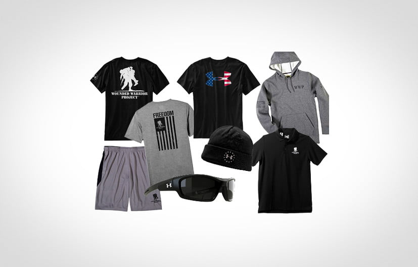 Wounded warrior under armour