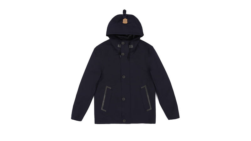 WRIGHT SHORT TRENCH COAT BY MACKAGE