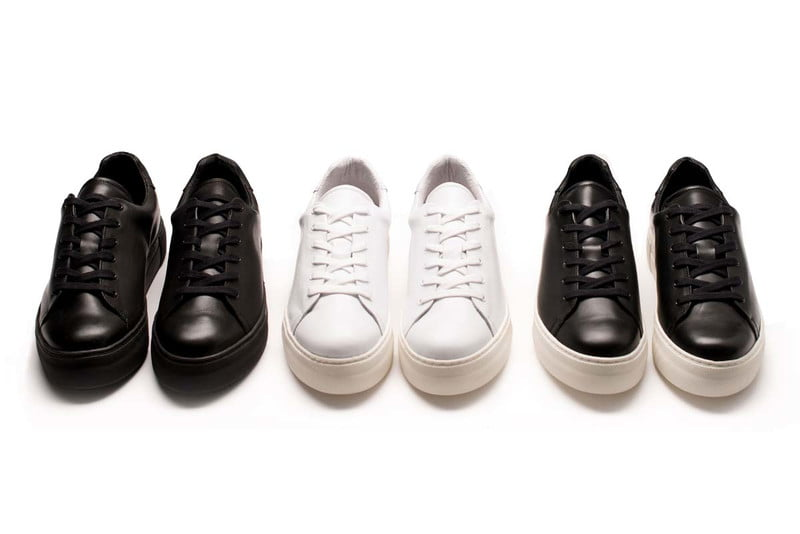 maratown sneakers in a row