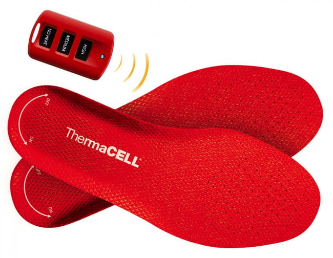 ThermaCell Heated Insoles warmer