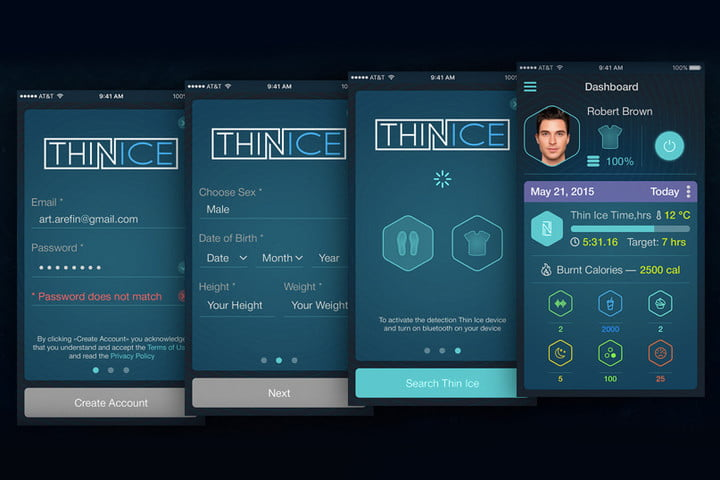 thin ice weight loss vest hands on app v