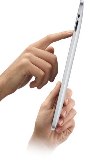 Apple Tablet Side View