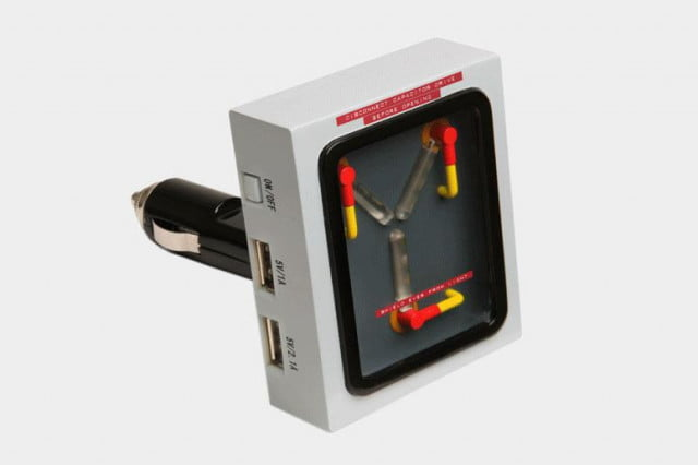 ThinkGeek Flux Capacitor USB car charger
