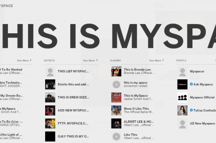 search myspace