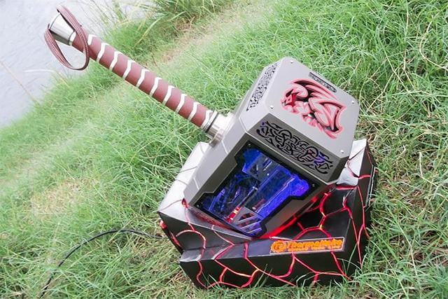 the  most awesome pc case mods youll ever see thors hammer