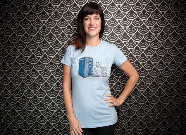 how threadless adds a wink and nod to product photography doctor who t
