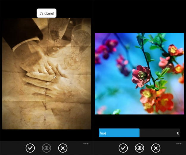 thumba screenshot photo editor windows phone 7 app
