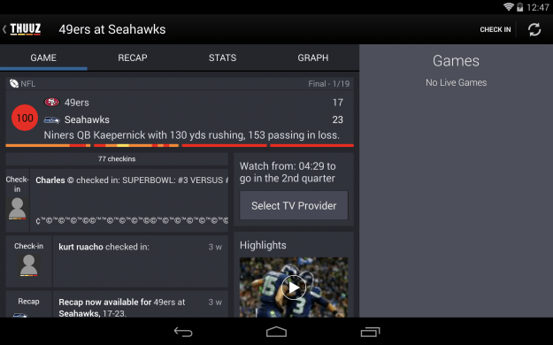 Thuuz_Sports_Android_tablet_app_screenshot