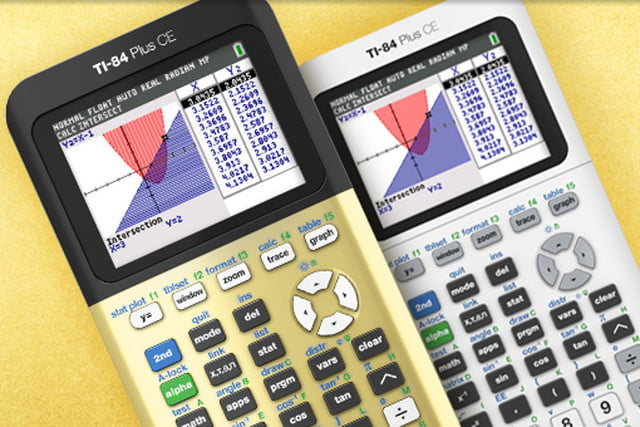 gold hue ti  plus ce graphing calculator