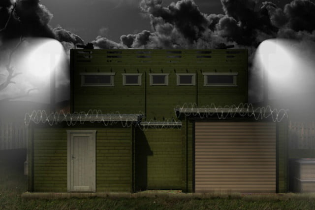 this kickstarter wants to make a zombie proof cabin tiger shed kickstarer