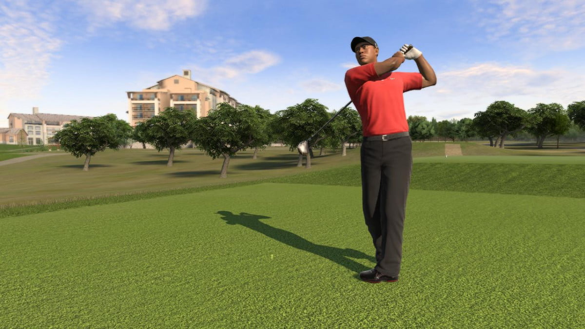 tiger woods ea end partnership  years pga tour screenshot xbox wii ps