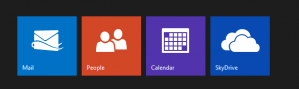 outlook tiles
