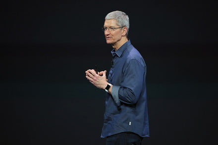 Apple's Tim Cook responds to