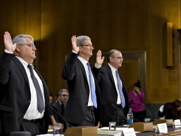 Tim Cook Apple Court