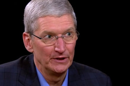 tim cook in sept 2014