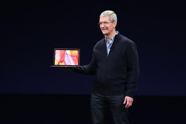 Tim Cook New Macbook