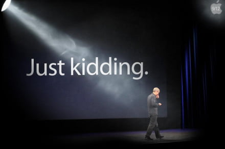 tim cook no apple september 12 announcement iphone 5