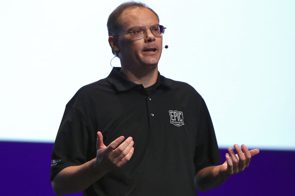 tim sweeney microsoft uwp steam closed walled  founder and ceo at epic games