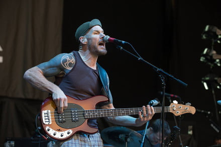 Rage Against the Machine bassist Tom Commerford picks up the mic in Wakrat