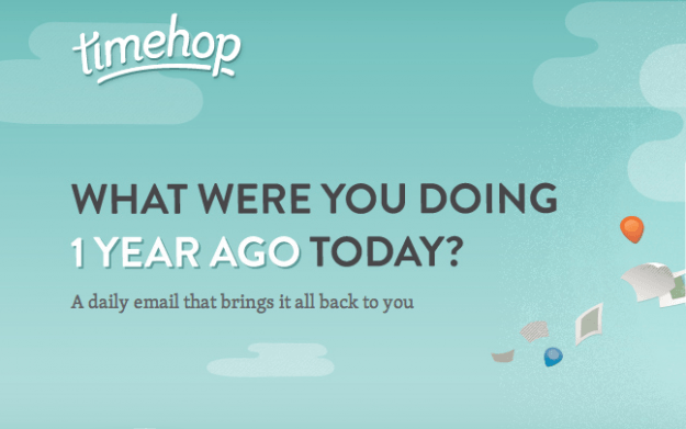 Timehop startup service