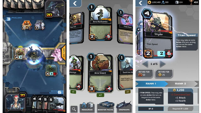 titanfall frontline ccg mobile titancards
