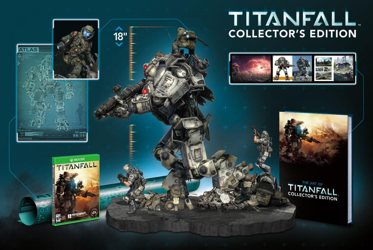 titanfall coming in march  with collectors edition ce