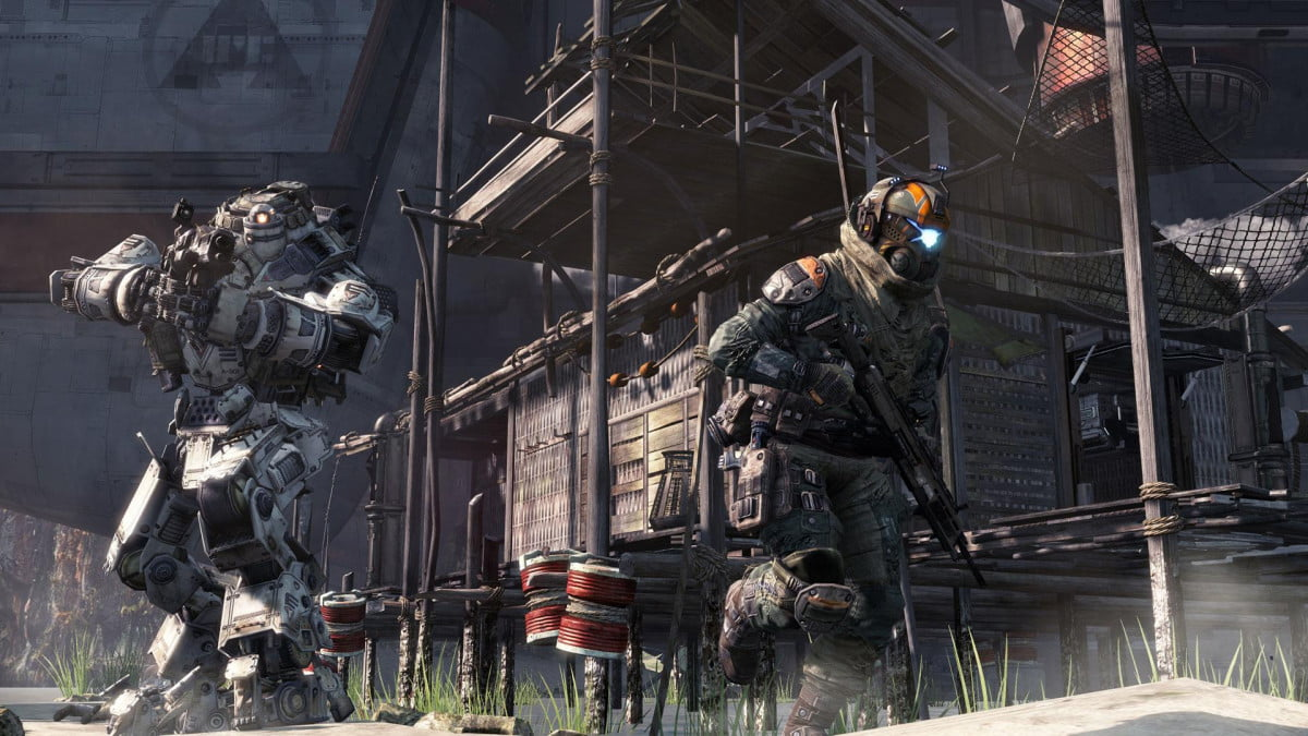 titanfall lifetime exclusive pc xbox  one gameplay
