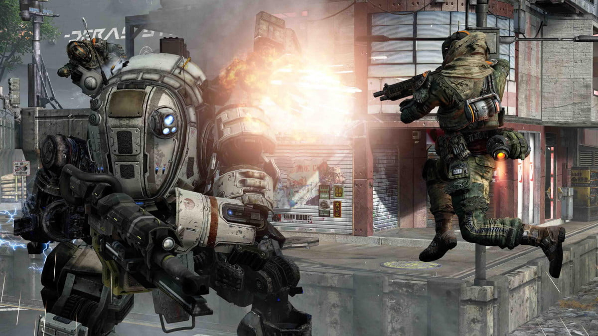 titanfall just says banhammer wont punish early play screen  ( )