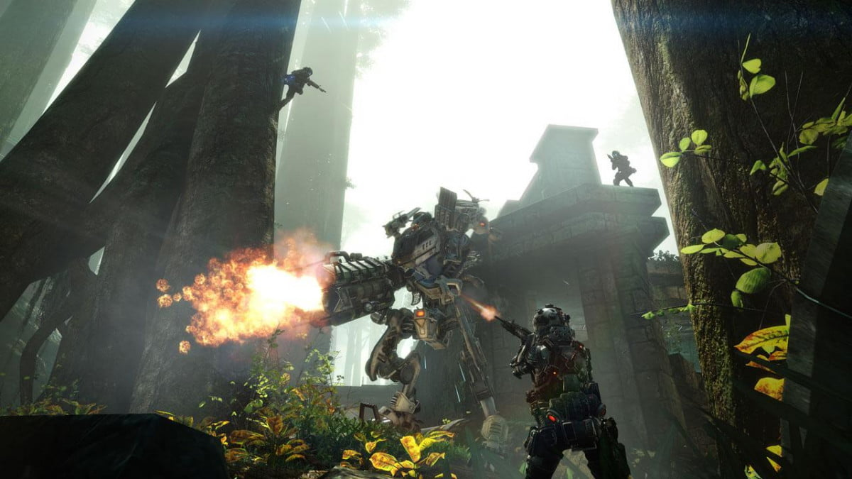titanfall expedition dlc gameplay trailer swampland