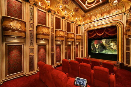 TK Theaters Super Rich Home Theater