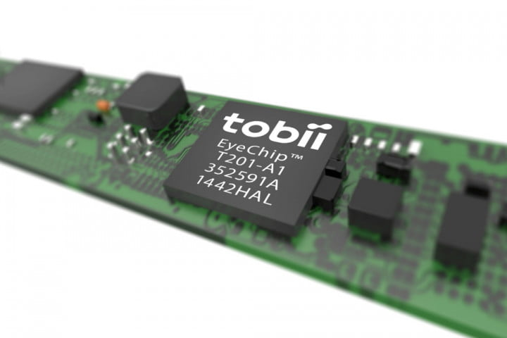 tobii shows prototype laptop with  th gen eye tracking camera is integration