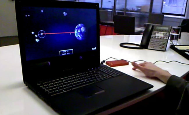 Lenovo-Tobii eye control PC