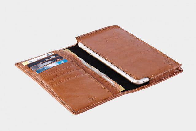 Toffee Sleeve Wallet