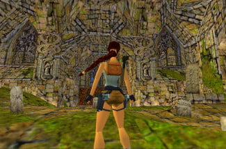tomb raider 1996 screenshot